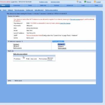 آموزش راه اندازی سانترال های IP Newrock-قسمت سوم
