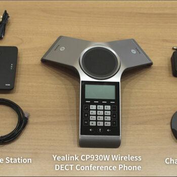 جعبه گشایی تلفن کنفرانس CP930 یالینک