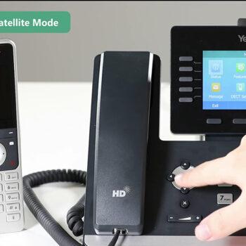 راهنمای اتصال هندست بی سیم به تلفن های ویپ سری T5X یالینک
