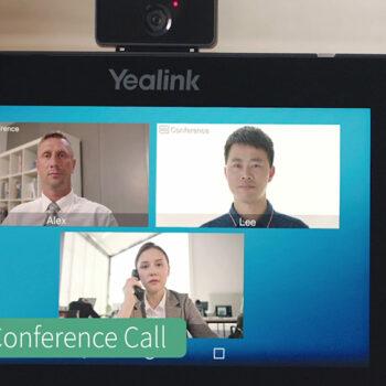 معرفی قابلیت تماس ویدئو کنفرانس در گوشی های سری T5 یالینک